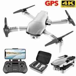 Drone GPS 5G 4K Foldable Quadcopter Pro Drone Transmission Brushless Motor Drone $124.19