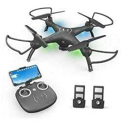 Drones with Camera for Adults 1080P HD FPV Live Video Wide Angle WiFi RC Quadcop $104.54