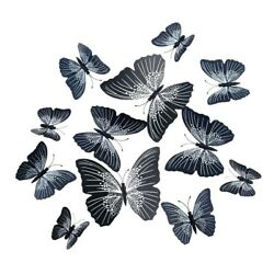 3D Butterfly wall decor PVC home Design room Decoration wall art stickers cute $1.99