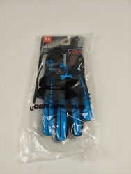 Under Armour UA F6 ADULT Football Gloves **BRAND NEW SHIPS FREE** Novelty BLK $24.00