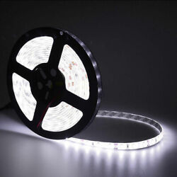 16FT 300 LED Strip Light 3528 5050 5630 SMD RGB White Flexible Waterproof DC 12V