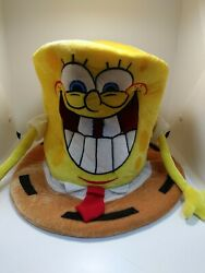 Collectible Nickelodeon Sponge Bob Square Pants Top Hat Mad Hatter 2008 $19.99