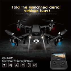 L103 RC Drone Camera 1080P Wifi FPV Optical F low Positioning Quadcopter Black $32.99