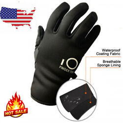 Winter Thin Liner Touch Screen Gloves Men Women Soft Thermal Outdoor Driving Ski $7.58