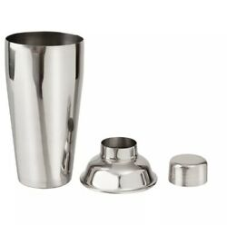 Stainless Steel Cocktail Shaker Mixer Drink Bartender Martini Tools Bar Set $18.00
