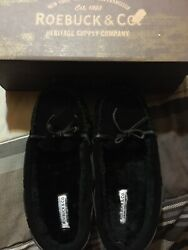 Black Slippers By Sears And Roebuck Size 7 8 $25.00