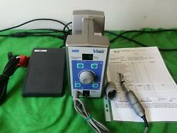 NSK Volvere VMAX Dental motor with handpiece and footswitch $250.00