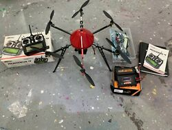 MIKROCOPTER HEXACOPTER DRONE D.I.Y. C w extras parts Accessories C $549.00