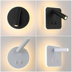 Wall Lamp With Spotlight Bedside Reading Lights Modern Fixtures LED Lighting New $66.29