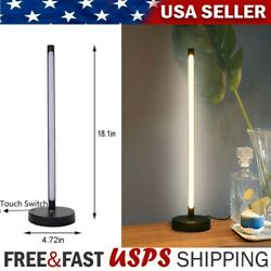 LED Touch Switch Table Lamp Student Reading Lamp Warm Light Office Desk Lamps $28.37