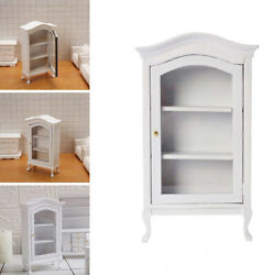 Kitchen Wine Cabinet 1:12 Scale Dolls House Miniature Furniture Toy for Bedroom $9.79