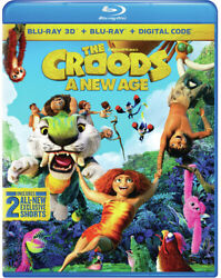 The Croods: A New Age New Blu ray 3D With Blu Ray Digital Copy $30.05