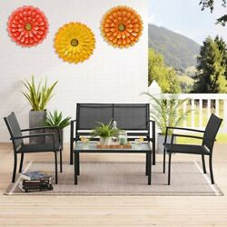 Metal Flower Wall Decor 14.2 inch Wall Art Decorations 3 Pack Sunflowers $31.00