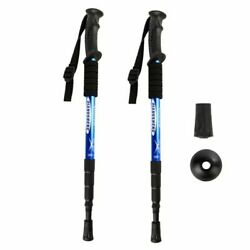 Outdoor Hiking Walking Telescopic Stick Aluminium Alloy Ultralight Trekking $40.99
