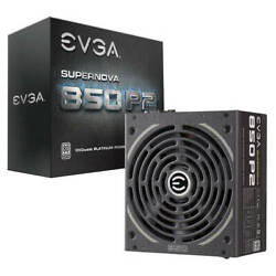 EVGA Power Supply 220 P2 0850 X1 SuperNOVA 850 P2 850W 80 220 P2 0850 X1 $258.73