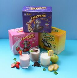 Cocktail for smart child growth Chocolate Strawberry and cream Banana and apple $42.00