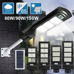 Solar LED Commercial Road Street Light 990000LM IP67 Outdoor Industria LampPole