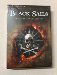 Black Sails Seasons 1 4 The Complete Collection 12 Disc Brand New $20.90