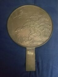 Vintage oriental Plaque Heavy Brass? Antique $99.99