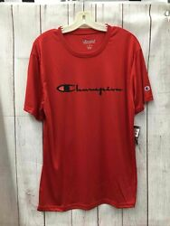 Champion Large Performance T shirt Red $12.50