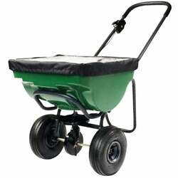 Precision 100 Lb. Broadcast Push Fertilizer Spreader SB4500PRCGY 1 Each $131.55
