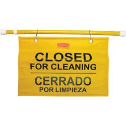 Rubbermaid Commercial Safety Sign 9S1600YL 9S1600YL 1 Each