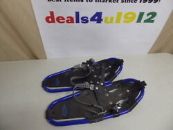 Thunder Bay Outdoor Gear 7 x 19 Kids Snowshoes Blue Black For Parts or Repair $12.99