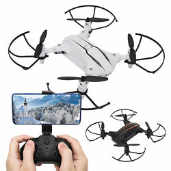 RC Drone Set Folding Quadcopter 4K WIFI Camera Drone Toy For Children Adult New $37.13