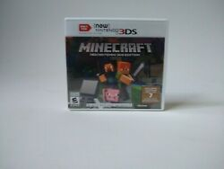 Minecraft for New Nintendo 3DS Tested Works with Manuel and Case 2017 $24.99