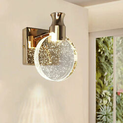 Modern Gold Wall Lamp Led Acrylic Wall Sconce Light Fixtures Living Room Bedroom $48.82