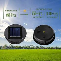 Round Solar Cells Poly Li ion Battery Charger Regulator Voltage LED Lamps Solar $5.47