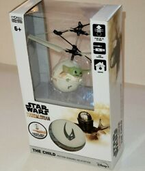 Star Wars Mandalorin Baby Yoda Helicopter. Control w your Hand $29.99