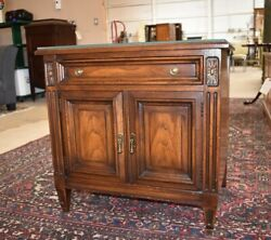 Vintage Bedroom Nightstand End Side Table by White Furniture co $325.00