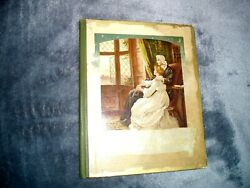 Vintage Antique quot;FOR AULD LANG SYNEquot; by E. Nister ar Nurmebery POETRY BOOK $6.99