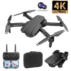 DRONE PROFESSIONAL QUADCOPTER WITH DOUBLE WIFI CAMERA 4K WITH 2 BATTERIES $89.99