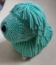 Teal Cute Wobble Noodle Dog Battery Operated $10.00