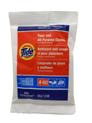 25 Pack Tide Floor And All Purpose Cleaner 4 60 1.5 OZ Powder Concentrate $18.99