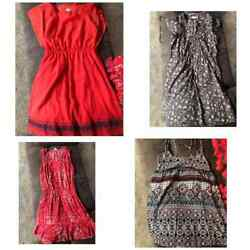 Lot 4 Small Women Teen Dresses Soft Joie American Eagle Truth Charming Charlie