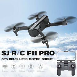 SJ RC F11 PRO 5G Wifi FPV GPS Drone Camera 2K 2.4Ghz Quadcopter Fr Beginner J2Y8 $138.52