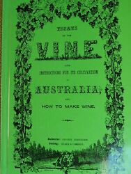 THE VINE With Instructions for its Cultivation How Make Wine Viticulture Grapes AU $79.99
