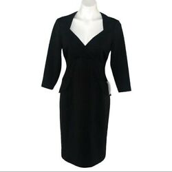 Maggy London Black Cocktail Dress NWT Size 10 $44.99