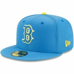 Boston Red Sox City Connect Cap Hat 5950 Fitted Boston Marathon Special Edition $59.99