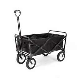 Mac Sports Collapsible Folding Frame Outdoor Utility Wagon Cart Open Box $70.99