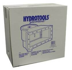 Hydro Tools 8939 ABS Through Wall Above Swimming Pool Skimmer Kit Used $38.49