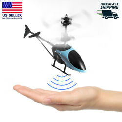 Helicopter Flying Mini RC Infrared Induction Aircraft Toys for Kids Gift USA $23.27