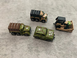 Military Vehicles 1988 Micro Machines  Galoob Vintage lot $25.00