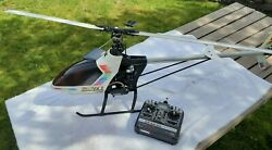 Hirobo Shuttle Zxx Helicopter with Futaba FP T7UHP remote control manuals inc. $280.00