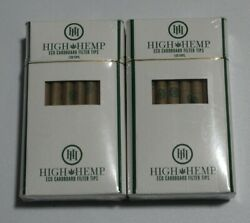 2X HIGH HEMP ROLLING PAPER TIPS120 PER PACK 240 TOTAL TIPS ECO FRIENDLY $13.99