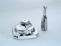 ✈ New Chrome Airplane Model Replacement Base Stand w Mounting Ball ✈ $99.99