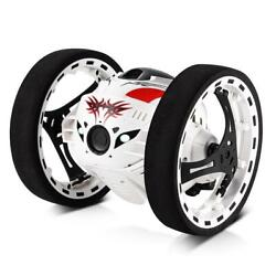 Remote Control Jumping Bounce Car White $45.00
